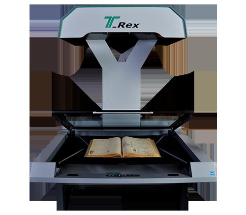 اسکنر کتاب تی رکس T-Rex Bookscanner