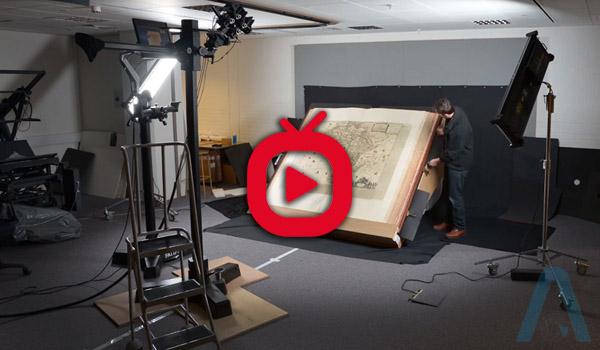 بزرگ ترین اطلس جهان چگونه در کتابخانه بریتانیا (British Library) اسکن شد